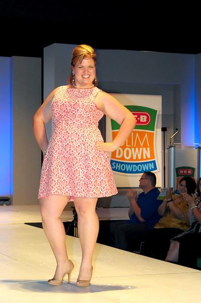 Ashley Trimble from Belton, winner of the H-E-B Partner (Employee) Slim Down Showdown $10,000 prize. Photo courtesy of H-E-B.