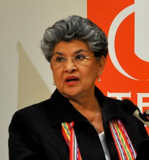 Former City Councilwoman and author María Berriozábal.