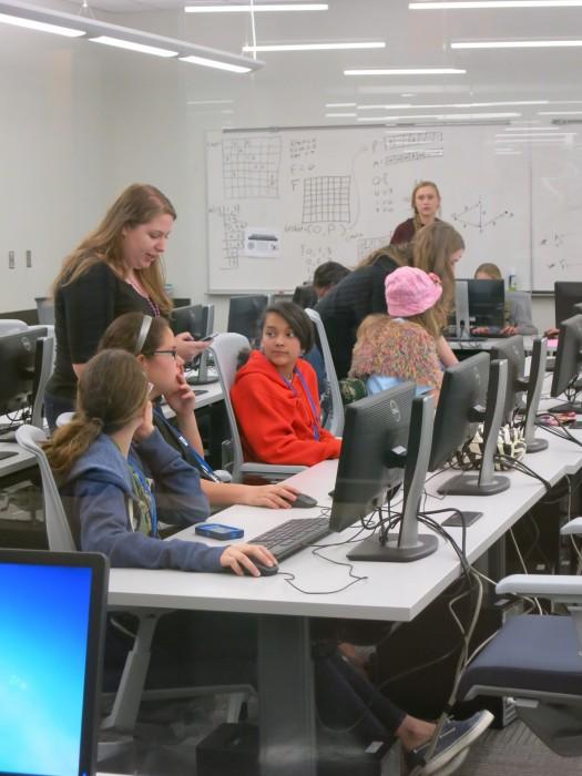 TECH Camps program founder Kylie Moden. Photo by Miriam Sitz.