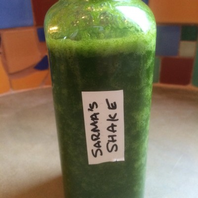 Sarma's Shake from One Lucky Duck cleanse. Photo by Claudia Zapata.