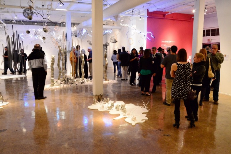 Contemporary Art Month 2014 Opening Party at Blue Star Contemporary Art Museum. Photo by Page Graham.