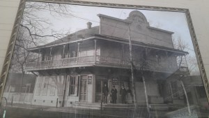 An historic photo of the Boehler House. Photo courtesy of Pearl Brewery.