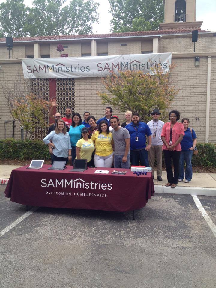 SAMMinistries raised $41,448 during the Big Give SA 2014. Photo courtesy of SAMMinistries Facebook.