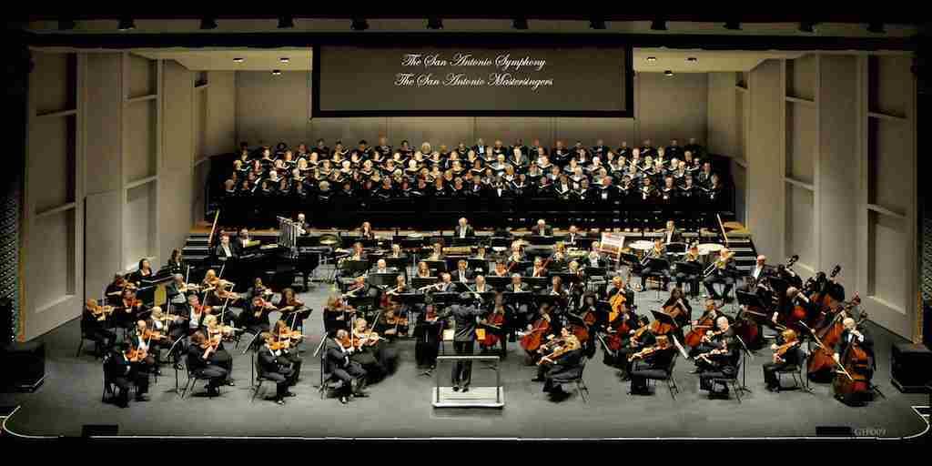The San Antonio Symphony and the San Antonio Mastersingers. Courtesy photo.