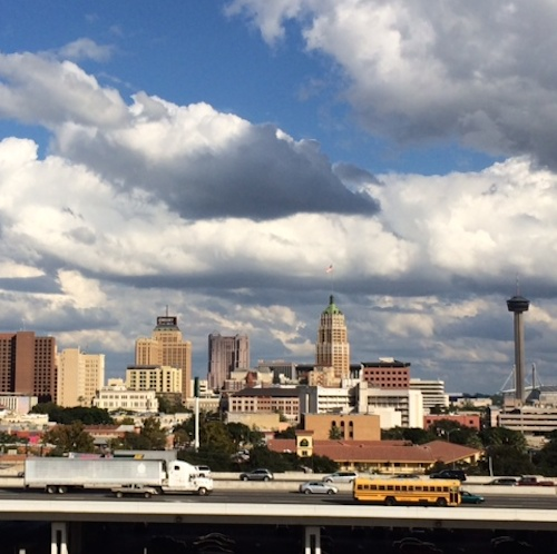 View of downtown San Antonio from UTSA's Downtown Campus. Courtesy photo.