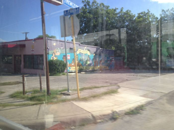 """A mural reading """"Dare to Dream"""" on South Presa Street and Tremlett Avenue. Photo by Anna-Alizette Ruiz."""