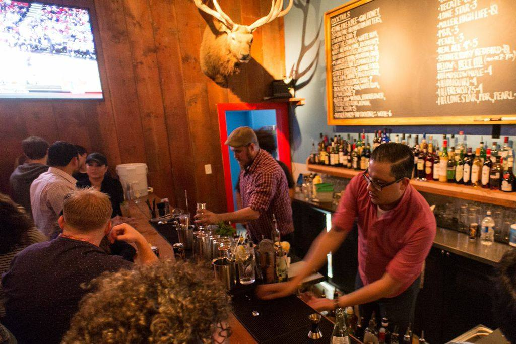 A busy Stay Golden Social House at the Pearl Brewery complex. Photo courtesy of Stay Golden Social House.