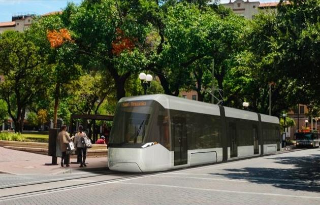 Streetcar rendering courtesy of VIA Metropolitan Transit.