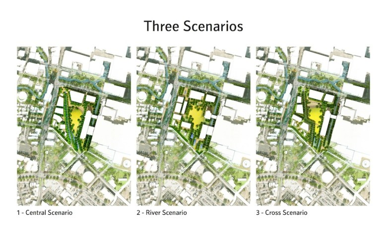 From the Gustafson Guthrie Nichol presentation at the Hemisfair Civic Park workshop.