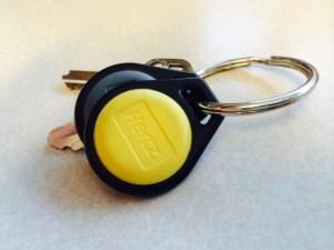 A Hertz On Demand carshare key. Courtesy photo.