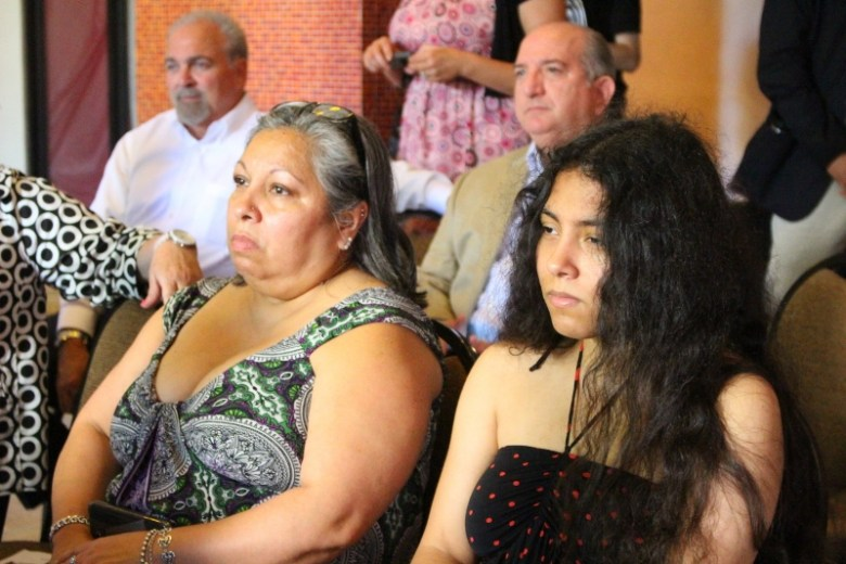 Zoe Palacios and her mother, Lupe Palacios. Photo by Page Graham.