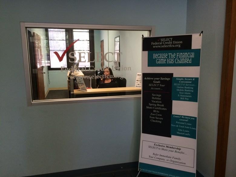 Select Federal Credit Union branch at Ella Austin Community Center