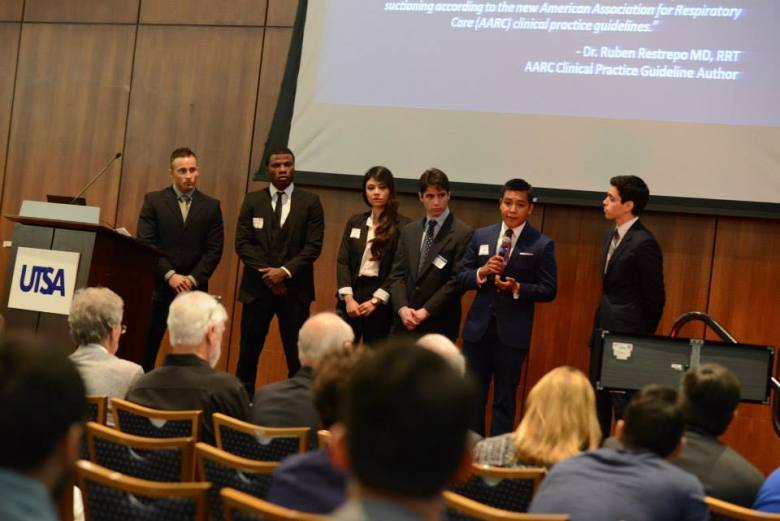 The business pitch portion of the CITE competition, photo by Deborah Silliman Wolfe