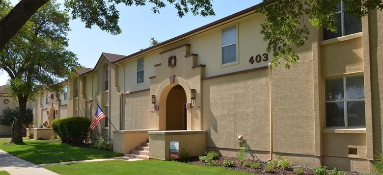 The Billy Mitchell Village Apartments. Courtesy photo.