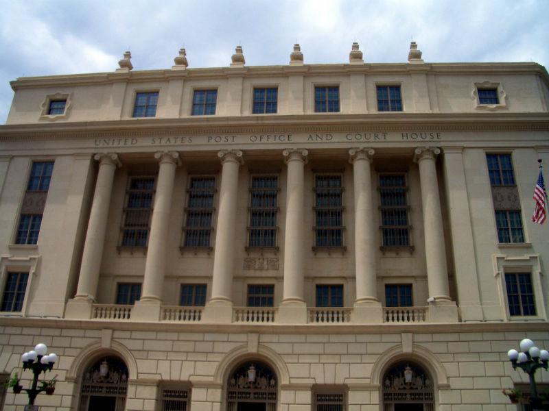 U.S. Post Office at Alamo Plaza. Photo by Lily Casura.
