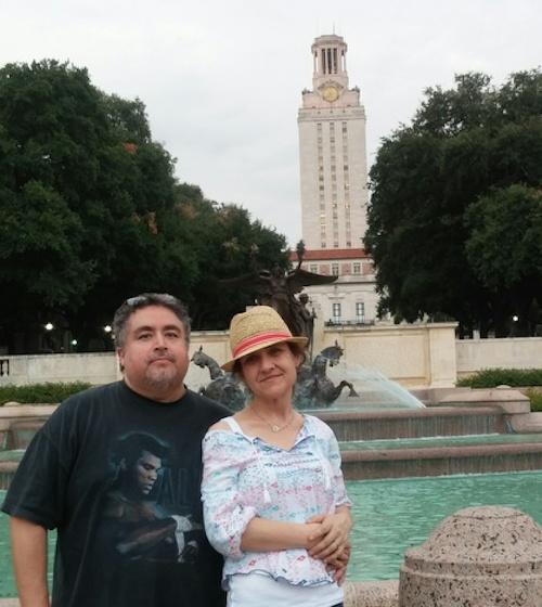 Faith Harper and her fiance, Joe, on vacation. Courtesy photo.