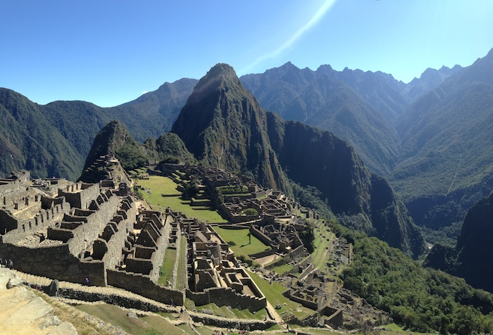 The top of Machu Picchu. Photo by Brooke Ramos.