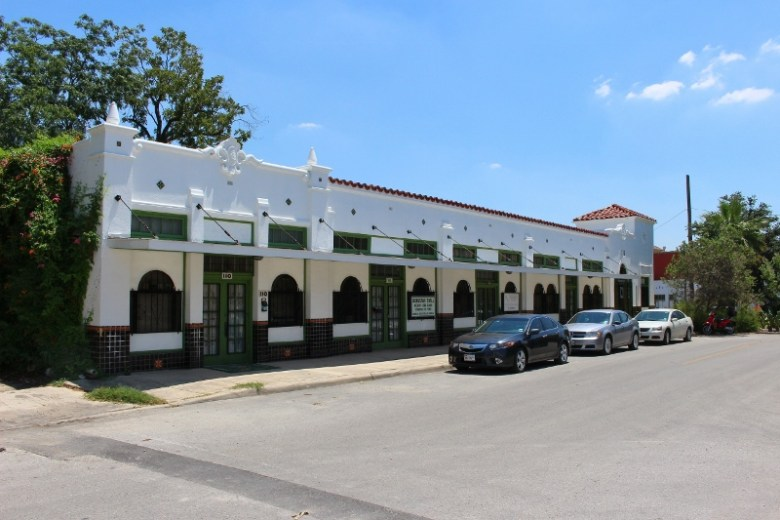 The building adjacent to French & Michigan once housed a Piggly Wiggly supermarket. Photo by Page Graham.