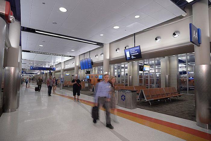 Terminal A interior. Photo courtesy of the San Antonio Internaional Airport.