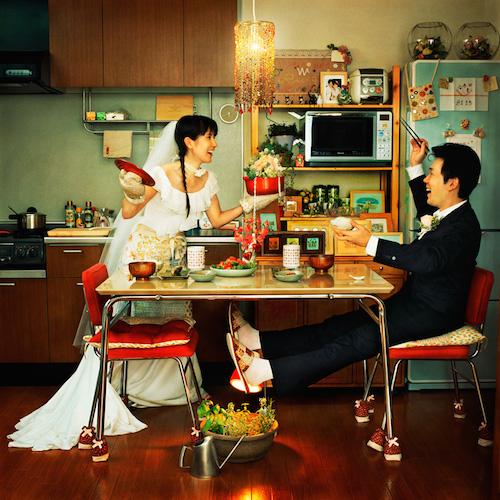 Mr. and Mrs. Ochiai - Ibaraki, Japan, 2005. Photo by Mami Kiyoshi (Japan). Part of FotoSeptiembre's SAFoto's Web gallery.