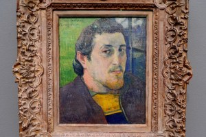 Gauguin's self portrait. Photo by Page Graham.