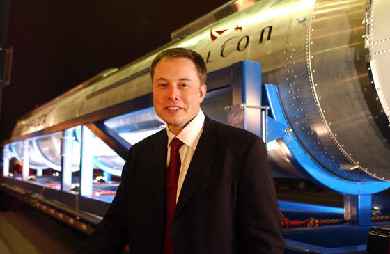 Elon Musk. Photo courtesy of SpaceX.
