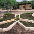 The butterfly garden at Hardberger Park just after completion. Courtesy photo.