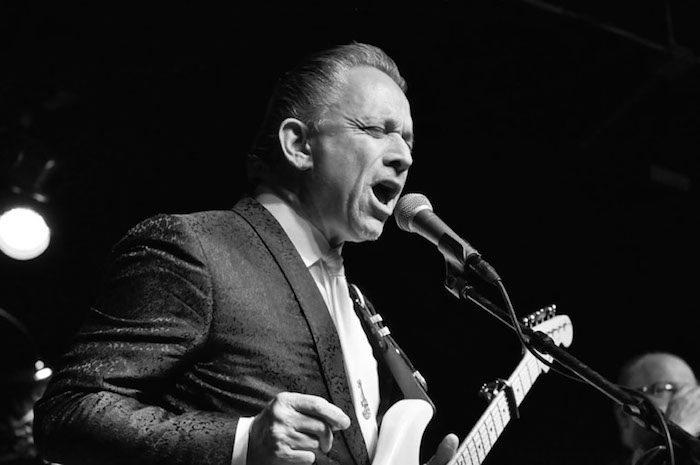 Jimmie Vaughan at Sam's Burger Joint. Photo by Annette Crawford.