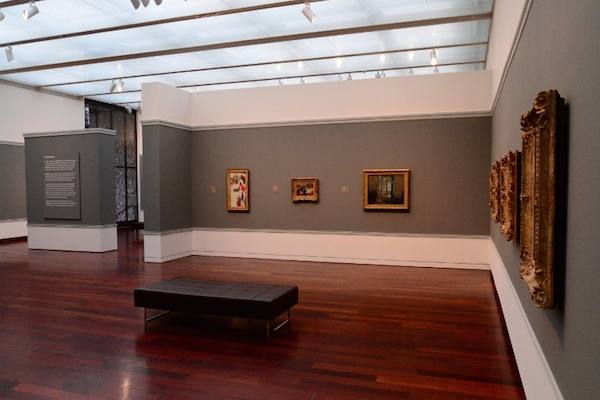 A quiet moment in the galleries at the McNay. Photo by Page Graham.