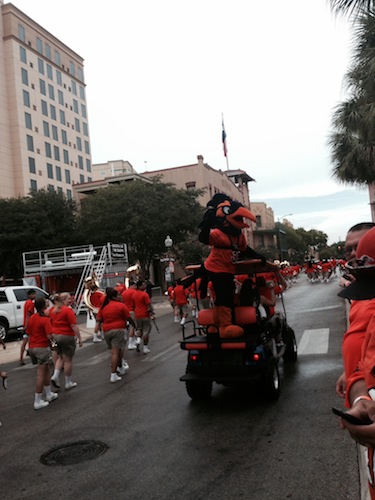 Tailgating can be a victory in itself at UTSA.