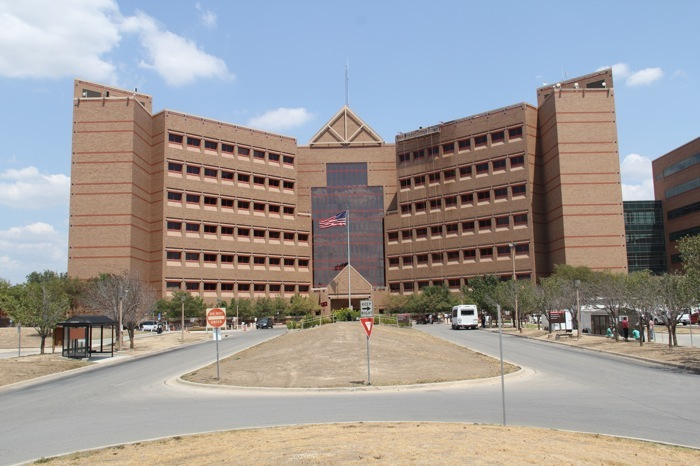 The front of Brooke Army Medical Center. Courtesy photo