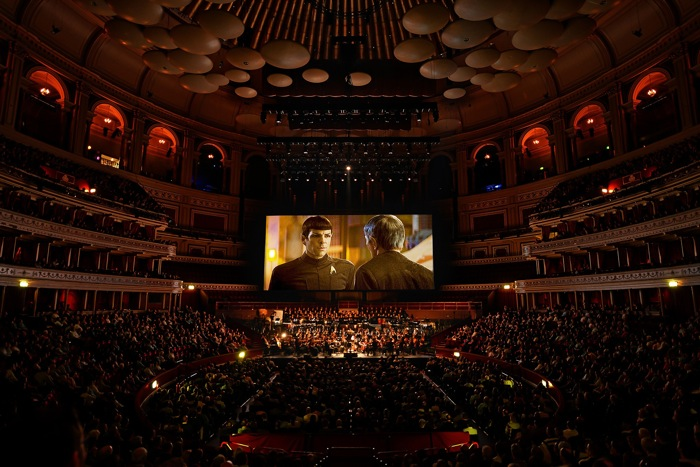 """Star Trek: Into Darkness"" showing at Royal Albert Hall in London."
