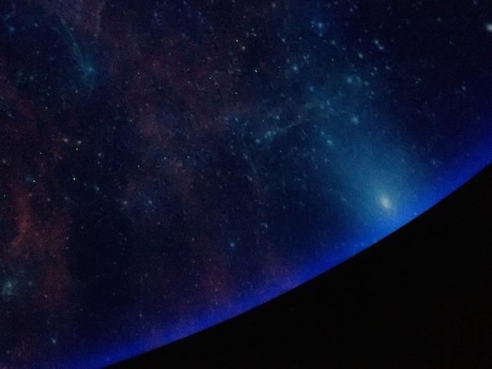 The Scobee planetarium. Photo by Bekah McNeel.