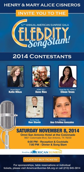 Contestants are gearing up for the 12th-annual American Sunrise Song Slam and Gala. Image courtesy of American Sunrise.