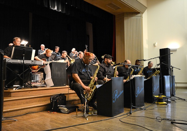 The Prime Time Jazz Orchestra get swingin' during September's Sunday Jazz at the Witte. Courtesy photo.