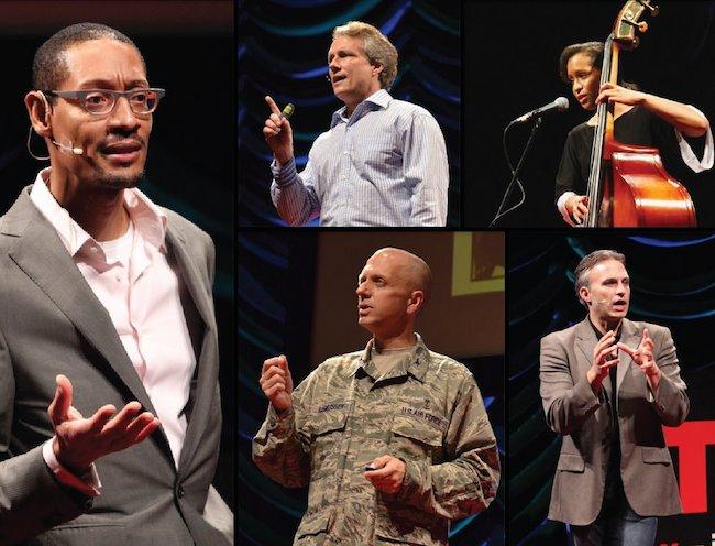 Past TEDXSanAntonio speakers. Courtesy photo.