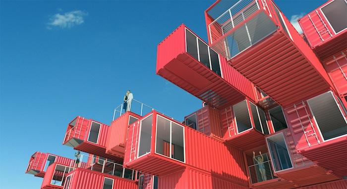 "Rodrigo Gorgazzi's ""6 Prototype Motel"" design. Courtesy image."