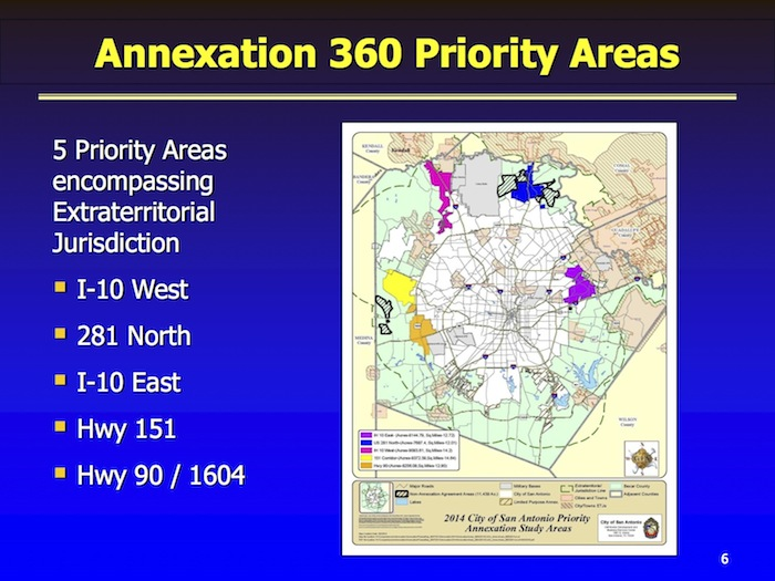 Annexation 360 priority areas