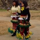 """La Danza de Matachines"" at Mission Concepción. Photo by Ivan Acevedo."