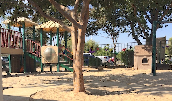 The Discovery School playground. Photo by Anna CohenMiller.