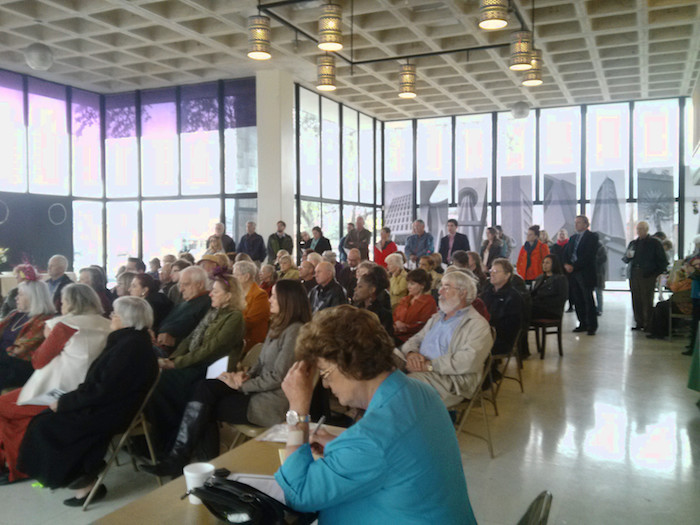 February's meeting took place inside the 1963 Inter-Continental Motors Building. The program featured a presentation on mid-century modern resources in San Antonio. Conservation Society meetings are always free & open to the public. Courtesy photo.