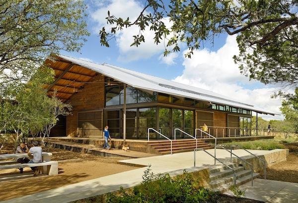 Phil Hardberger Urban Ecology Center, designed by Lake/Flato Architects. Courtesy photo.