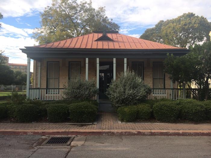 The Espinoza House at Hemisfair Park. Photo by Rachel Holland.