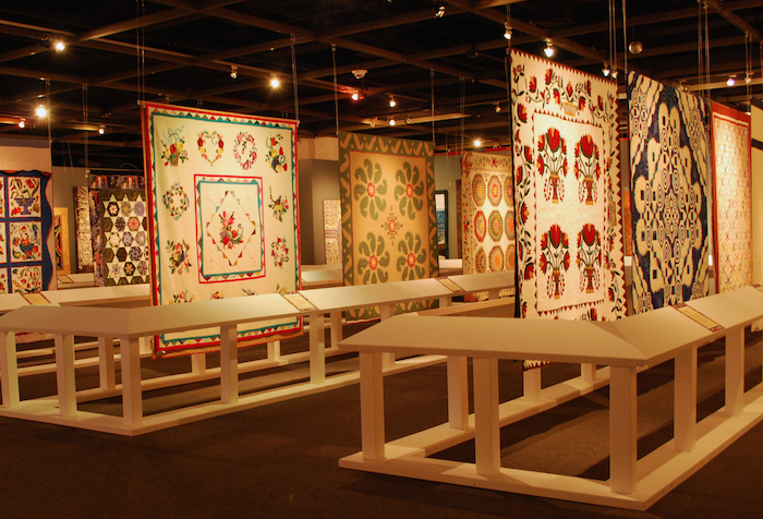 """""""Modern Masterpieces by Texas Quilters, 1989-2010,"""" and """"Texas Art Quilts, 1993-2011"""" are two imaginative exhibits from the Texas Quilt Museum. Courtesy image."""