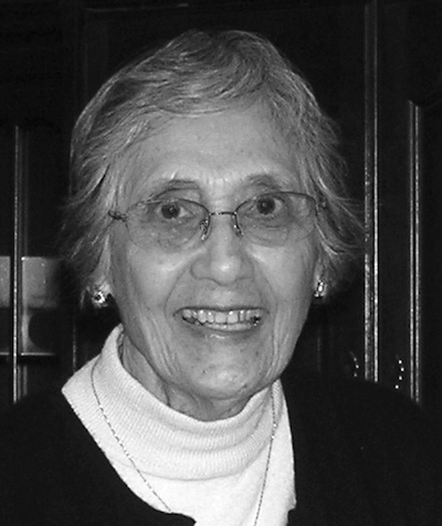 Elvira Cisneros in 2006. Photo courtesy of the Cisneros Family.