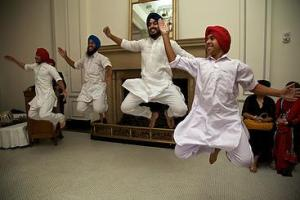 "S.A.N.J. Bhaugra Sikh Dance Group will perform during ""Kids for Kids."" Courtesy photo."
