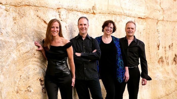 Members of the SOLI Chamber Ensemble (from left) Stephanie Key, Ertan Torgul, Carolyn True, David Mollenauer. Courtesy photo.