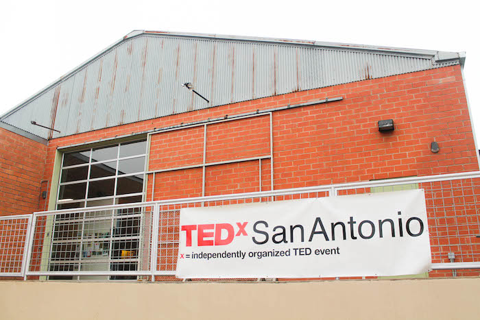 """TEDxSanAntonio was instrumental in the setup of TEDxYouth, lending volunteers and donating T-shirts. At Rackspace this year, TEDxSan Antoniohighlighted """"Ideas in Action."""" Photo by India Nikotich."""