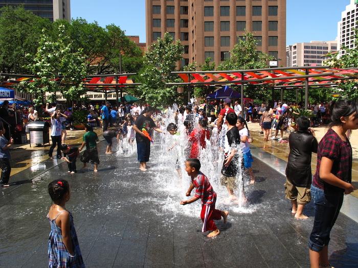 Main Plaza in San Antonio. Photo courtesy of Lake/Flato.
