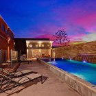 The pool at the Steel House Lofts. Courtesy photo.